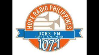 DXHS FM 107.1 Hope Radio Tagum Sign off-1