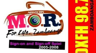 MOR Zamboanga Sign-on and Sign-off Spiel 2005