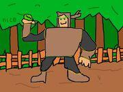 Wood Man fanart 107