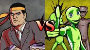 REGGIE FILS-AIMÉ vs. DANCING ALIEN TEAM
