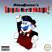SIIVAGUNNER CRANK SQUAD - SUPER GANGSTA BROS. MIXTAPE (PROD. HALTMANN WORK$$$) - Alternate Album Cover (Aqua¢ycle)