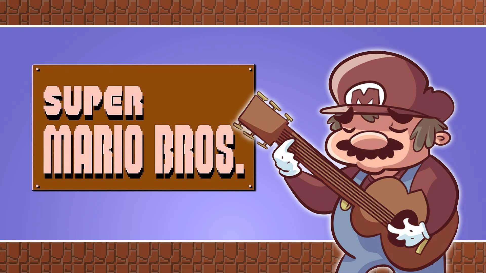 Ground Theme (Super Mario Bros ) - Mario Series for Guitar