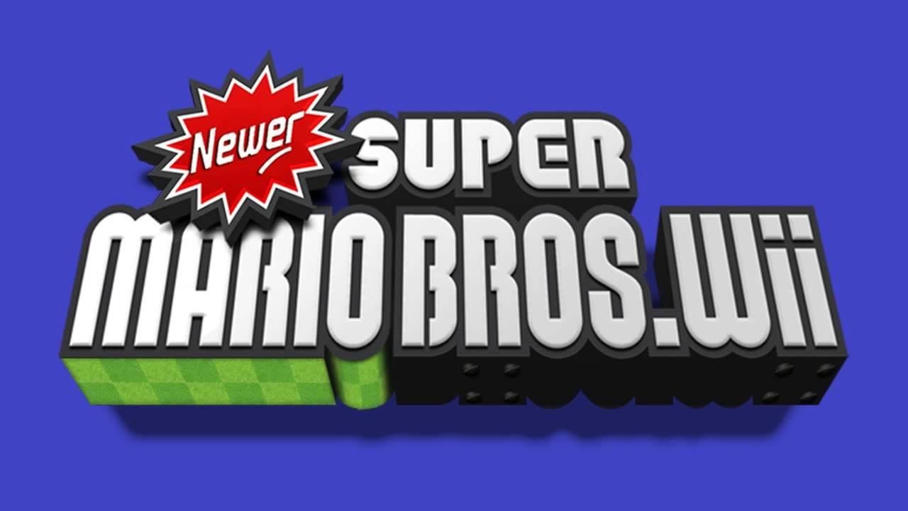 Title Theme - Newer Super Mario Bros  Wii   SiIvaGunner