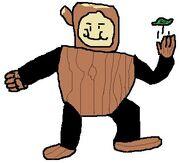 Wood Man fanart 112
