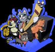 The Jazz Cats & Sakamoto (Anonite, HugelDude)