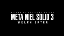 Snake Eater (NA Version) - Metal Gear Solid 3- Snake Eater