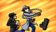 GilvaSunner - Inspector Gunner 2 With Critic - Poxuz Gadget v Critic