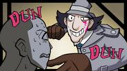 GilvaSunner - Inspector Gunner 2 With Critic - 813N Danganronpa