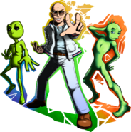 Pitbull and the aliens beta image