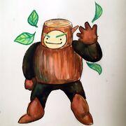 Wood Man fanart 101