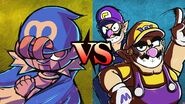 Geno vs. Wario Bros.