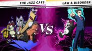 The Jazz Cats vs Law & Disorder