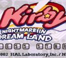 Nightmare Battle - Kirby: Nightmare in Dream Land
