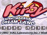 Yogurt Yard - Kirby: Nightmare in Dream Land