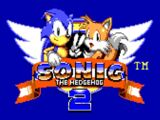 Title Screen - Sonic the Hedgehog 2 (Game Gear/Master System)