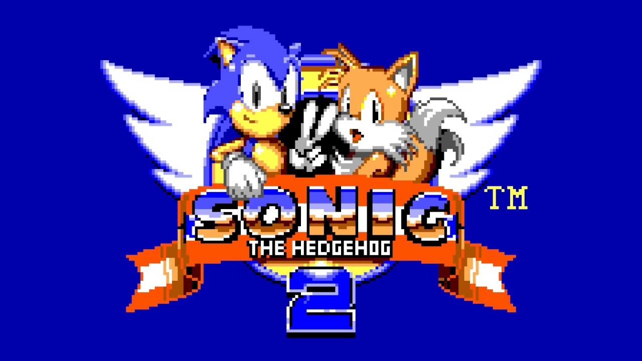 Title Screen Sonic The Hedgehog 2 Game Gear Master System Siivagunner Wikia Fandom
