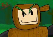 Wood Man fanart 41