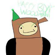 Wood Man fanart 104
