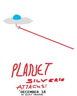 Planet Silverio Attacks Poster