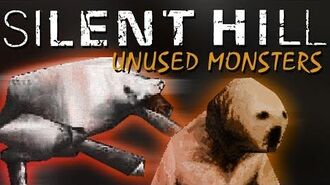 SILENT HILL 1 - UNUSED MONSTERS - NEVER SEEN BEFORE!