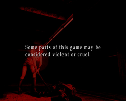Silent Hill content warning