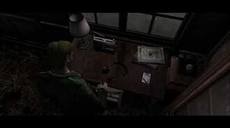 Silent Hill 2 headphones doctor scene