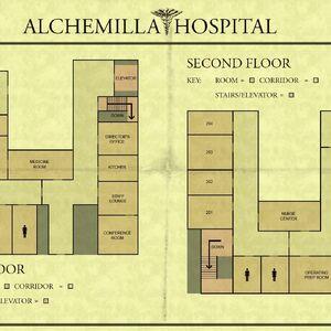 silent hill 2 hospital map