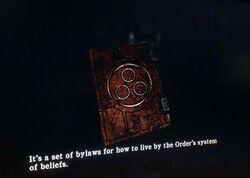 The Order's Beliefs Book