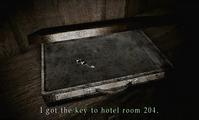 SH2 Open Room 204 Key Briefcase