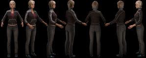 Elle 3D Game Model