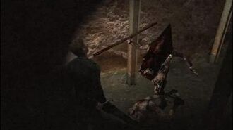 Silent Hill 2 - James and Pyramid Head are finally friends