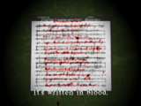 Silent Hill memo - A Tale of Birds Without a Voice examine 01 EN
