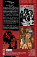 Silent Hill - Dead-Alive Issue no 4 - Credits