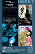 Silent Hill - Dead-Alive Issue no 2 - Credits