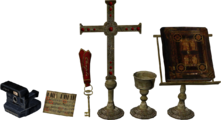 Monastery unused items