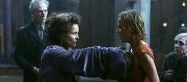 Christabella is stabbing Rose