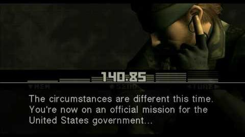 Metal Gear Solid 3 Cutscenes HD 720p Part 11