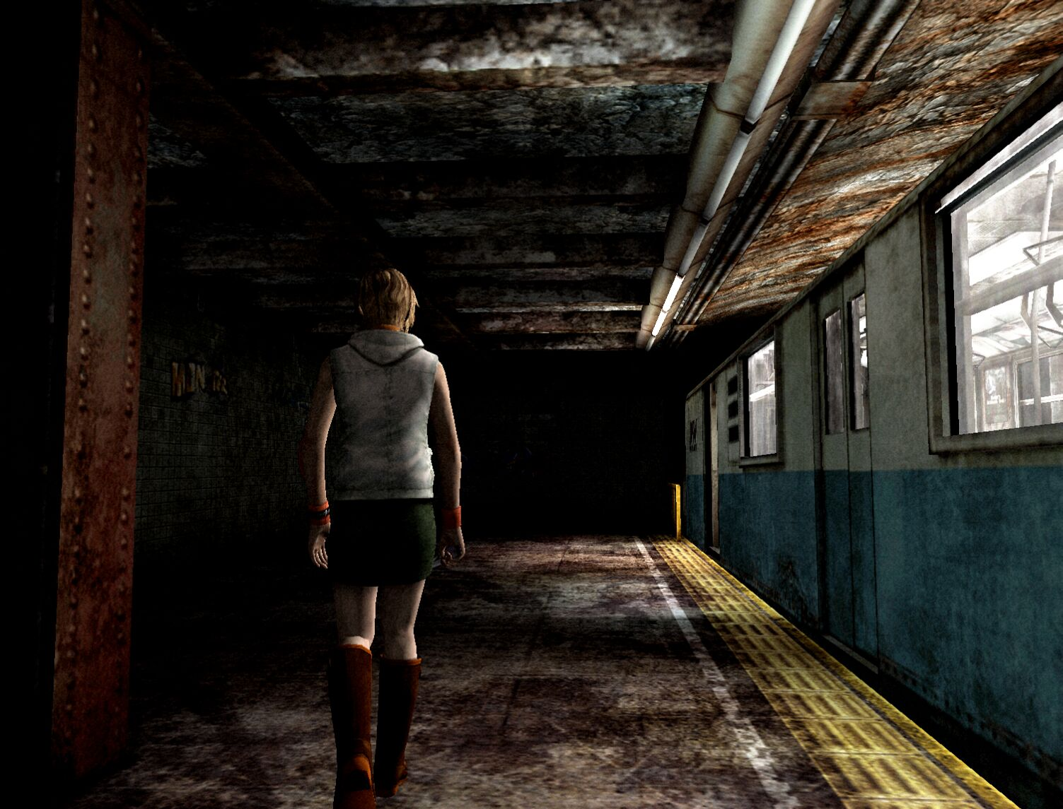 Silent Hill 3 Subway Map