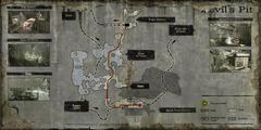 Devil's Train Map