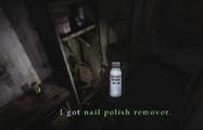 Heather picks up Nail Polish Remover