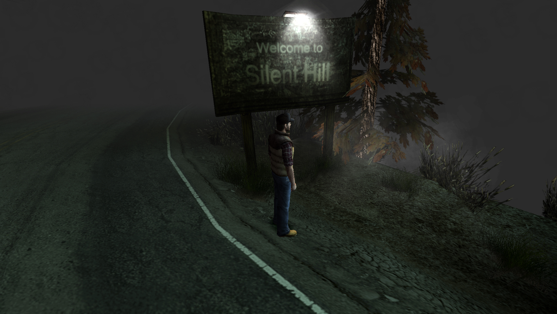 Silent Hill Origins In Fog World