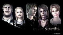 Silent Hill pachislot wallpaper - Characters - 1366x768