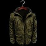 Homeless old coat