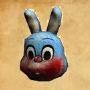 Sh bom blue robbie mask