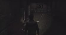 Sanitarium's dark hallways