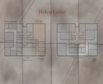 Hilltop Center Map 3rd and 4th Floor