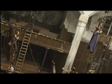 Alice being lifted up to the air during the climax scene