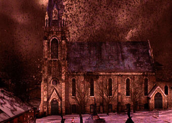 silent hill town background