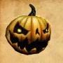 Sh bom jack-o-lantern mask