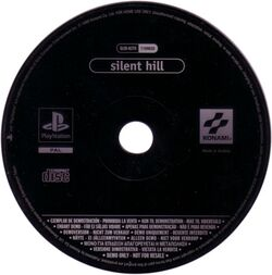 Silent Hill Demo Disc